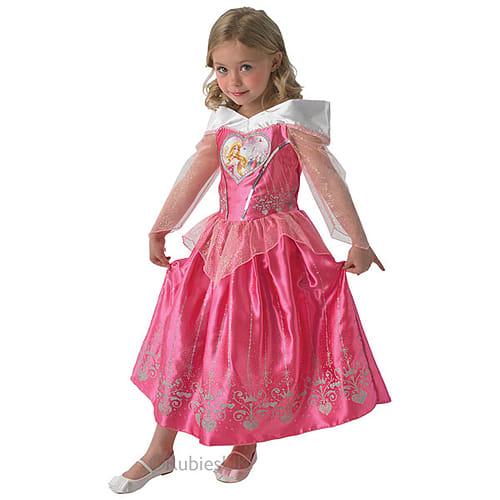 4f35920e5 Buy New Disney Princess Love Hearts Sleeping Beauty Girls Fancy Dress Party  Costume   GAME