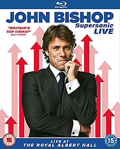 John Bishop - Supersonic: Live At The Royal Albert Hall (Blu-ray) (C-15)Blu-ray