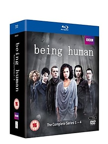 Being Human Series 1-4 Box Set (Blu-ray) (C-15)Blu-ray