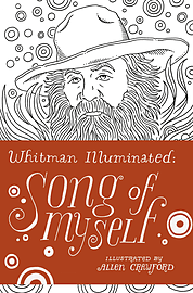Walt Whitman, Allen Crawford - Whitman Illuminated: Song of Myself (Hardback) 9780224101943Books
