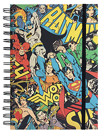 DC Originals Montage A5 NotebookStationery