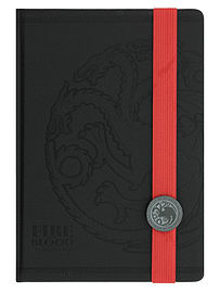 Game of Thrones Targaryen Premium A5 NotebookStationery