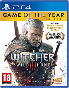 The Witcher 3: Wild Hunt GAME OF THE YEAR EDITIONPlayStation 4Cover Art