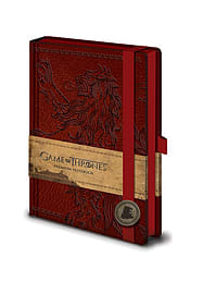 Game Of Thrones house lannister emblem new Official premium A5 NotebookSize:Stationery
