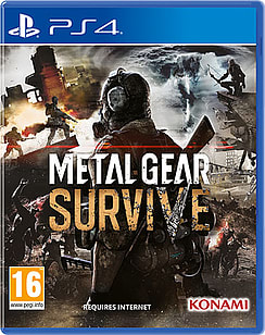 Metal Gear SurvivePlayStation 4Cover Art