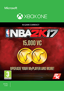NBA 2K17: 15,000 VC for XBOX ONE
