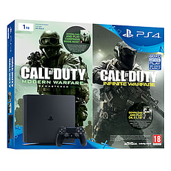 PlayStation 4 1TB New Look Console with Call of Duty: Infinite Warfare Early Access BundlePlayStation 4