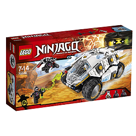 LEGO Ninjago Titanium Ninja Tumbler Building SetBlocks and Bricks