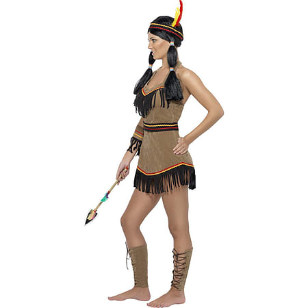 Small Indian Woman Costume Sexy Squaw Fancy Dress Ladies Pocahontas Outfit New 8-14  sc 1 st  Game & Buy Small Indian Woman Costume Sexy Squaw Fancy Dress Ladies ...