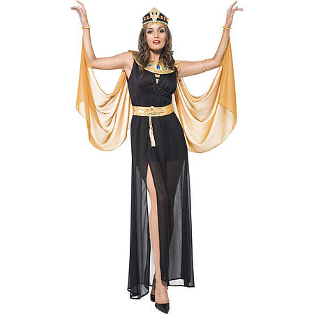 Medium Adult Cleopatra Costume Queen of the Nile Sexy Egyptian Fancy Dress Womens 8-18  sc 1 st  Game & Buy Medium Adult Cleopatra Costume Queen of the Nile Sexy Egyptian ...