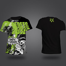 DEDSEC Acid Green T-Shirt (Small)Clothing and MerchandiseCover Art