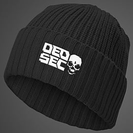 DEDSEC Pixelated Logo BeanieClothing and MerchandiseCover Art