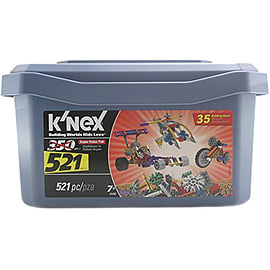 K'Nex Super Value Tub (521 Piece)Blocks and Bricks