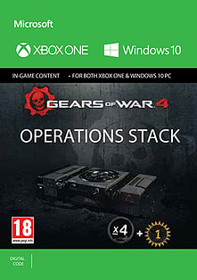 Gears of War 4: Operations Stack for XBOX ONE