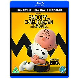 Snoopy And Charlie Brown The Peanuts Movie 3D Blu-rayBlu-ray