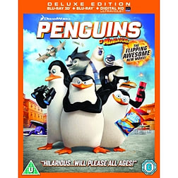 Penguins of Madagascar Blu-ray 3D + Blu-ray + UV CopyBlu-ray