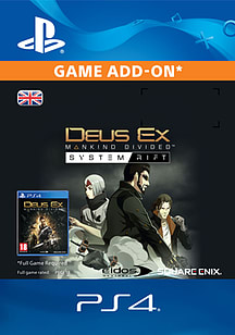 Deus Ex: Mankind Divided - System Rift for PS4