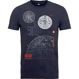 Blue Print Death Star Tee SSize-S