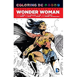 Coloring DC Wonder WomanBooks