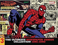 Amazing Spider-Man Ultimate Newspaper Comics: Volume 3: 1981-1982 Hardcover screen shot 1