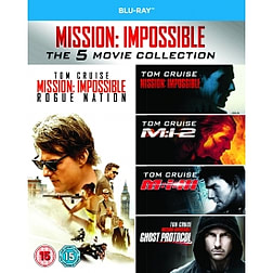 Mission Impossible 1-5 Blu-rayBlu-ray