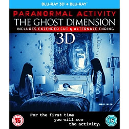 Paranormal Activity: The Ghost Dimension Blu-ray 3D Blu-rayBlu-ray