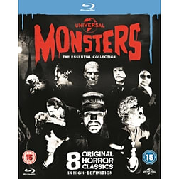 Universal Classic Monsters The Essential Collection Blu-rayBlu-ray