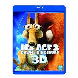 Ice Age 3: Dawn of the Dinosaurs Blu-ray 3D, Blu-Ray, DVD & Digital CopyBlu-ray