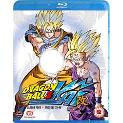 Dragon Ball Z KAI Season 4 Episodes 78-98 Blu-rayBlu-ray