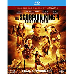 The Scorpion King 4: Quest for Power Blu RayBlu-ray