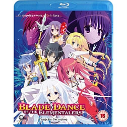 Blade Dance Of The Elementalers Complete Season 1 Collection Blu-rayBlu-ray