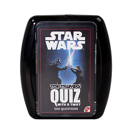 Star Wars Top Trumps QuizTrading Cards