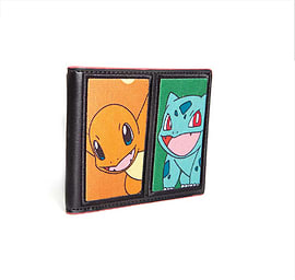 Pokemon Wallet Charmander bulbasaur Characters new Official BifoldClothing and Merchandise