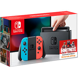 Nintendo Switch - Neon Red/Neon BlueSwitch
