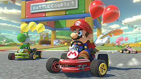 Mario Kart 8 Deluxe screen shot 10
