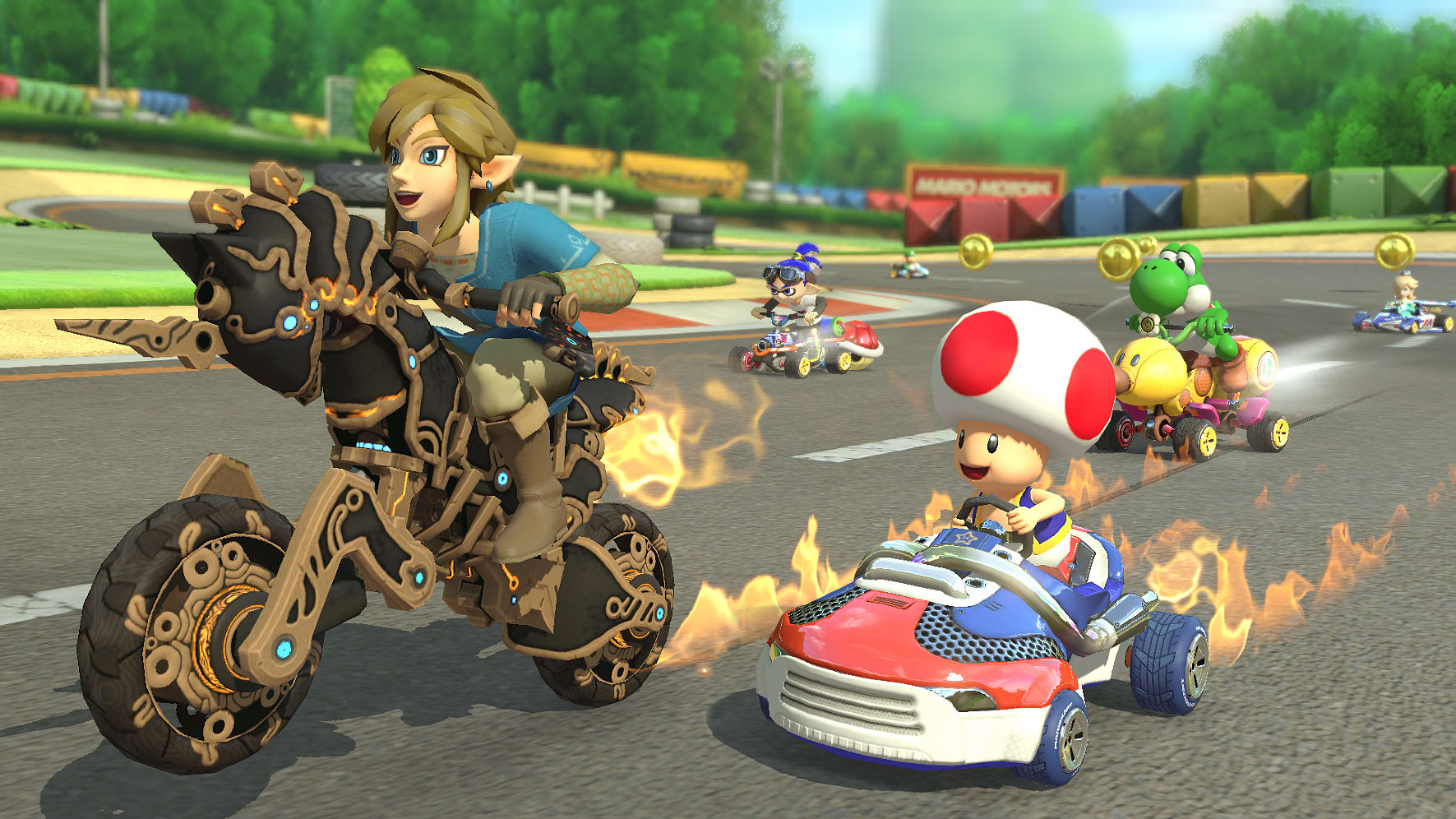 Image result for mario kart 8 deluxe