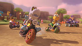 Mario Kart 8 Deluxe screen shot 1