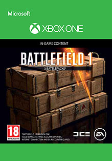 Battlefield 1: Battlepack X 3 for XBOX ONE