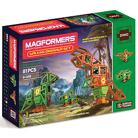 Magformers Walking Dinosaur 81 Piece SetBlocks and Bricks