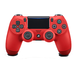 New PlayStation Dualshock 4 Magma Red PlayStation 4