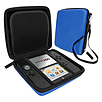 Zedlabz hard protective eva travel carry case for Nintendo 2DS with built in game storage - blue 2DS/3DS