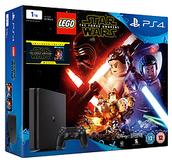 PlayStation 4 1TB Slim with LEGO Star Wars and MorePlayStation 4