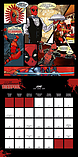 Deadpool Calendar 2017 Movie wade wilson 30 x 30cm new Official Marvel wallSize: screen shot 1