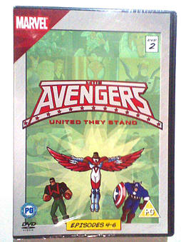 The Avengers - United They Stand (Episodes 4-6)DVD