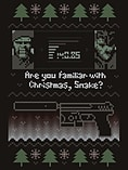 Are You Familiar With Christmas Snake? Black Men's Christmas Jumper: Extra Large (Mens 42- 44) screen shot 1