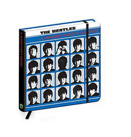 The Beatles Notebook Hard Days Night new Official quality hardback journalSize:Stationery