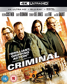 Criminal (4K Ultra HD Blu-ray)Blu-ray