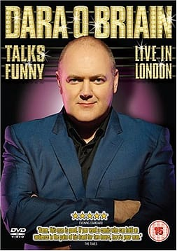 Dara O Briain Talks Funny - Live in London DVDDVD