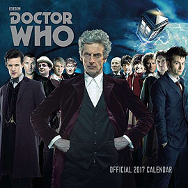 Doctor Who Classic 2017 Dr Who Square Calendar 30x30cmBooks