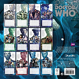 Doctor Who Classic 2017 Dr Who Square Calendar 30x30cm screen shot 1